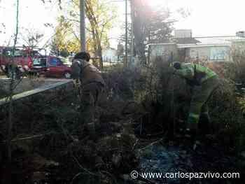 Bomberos sofocaron un incendio en San Antonio de Arredondo - Carlos Paz Vivo!