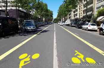 Argenteuil : la piste cyclable supprimée au bout de trois jours - Le Parisien