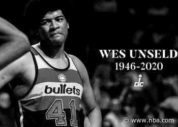 Wizards, NBA mourn passing of Wes Unseld
