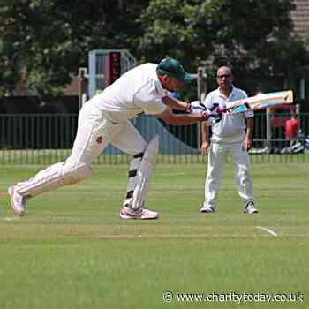Local man goes all out in support of cricket and mental health - Charity Today News