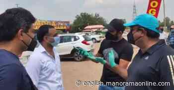 Mohammad Shami distributes masks, food packets in UP - Onmanorama