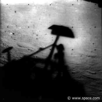On This Day in Space! June 2, 1966: Surveyor 1 becomes 1st American spacecraft to soft-land on the moon