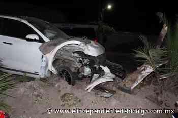 Accidente en Mixquiahuala deja un lesionado - Independiente de Hidalgo