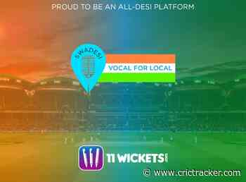'Made and played in India' - 11Wickets Fantasy Cricket gets vocal about being local - CricTracker