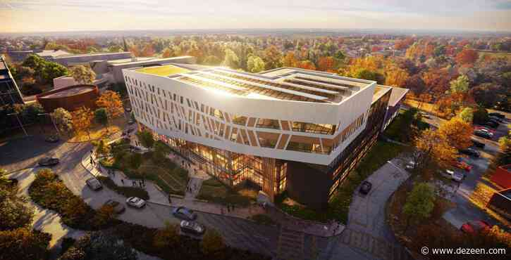 Dialog designs mass timber net-zero carbon university building for Canada