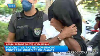 Megaoperação prende PMs envolvidos com milícias no Rio de Janeiro - R7