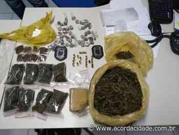 Drogas e munições são apreendidas em Feira de Santana durante operação para prender suspeito de homicídio - Acorda Cidade