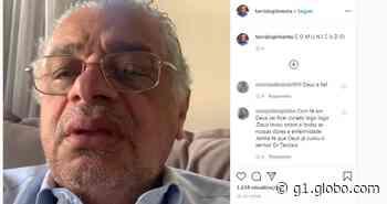 Ex-prefeito de Feira de Santana, Tarcizio Pimenta é diagnosticado com Covid-19: 'Estou sem sintomas, mas em isolamento' - G1