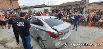 Feira de Santana: Homem é executado dentro de carro no bairro Rua Nova; namorada fica ferida - Voz da Bahia