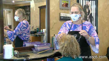 Hair salons in Rhode Island reopen under Phase 2 restrictions – ABC6 - WLNE-TV (ABC6)
