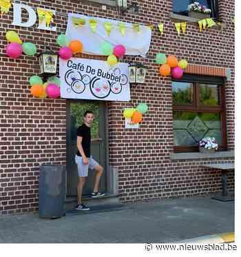 Café-uitbater verandert naam van zijn café in 'De Bubbel'