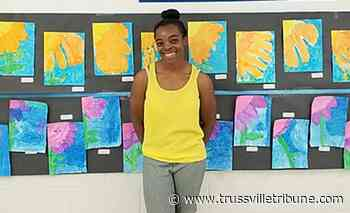Clay Elementary art teacher creates virtual 'Spring Art Show' to celebrate student's work throughout year - Trussvilletribune