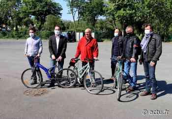 Bonne initiative. Réparation de 40 vélos pour le camping d'Evron - actu.fr