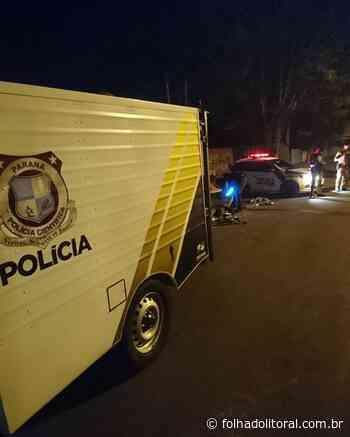 Rapaz é assassinado na frente do irmão em Matinhos - Folha do Litoral News