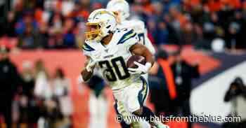 What we would've seen at Chargers rookie minicamps and OTAs