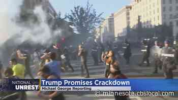 Pres. Trump Says He's Ready To Use Military In Response To Protests - WCCO | CBS Minnesota