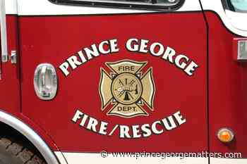 Prince George Fire Rescue reports no injuries from $10K Spruceland shed fire - PrinceGeorgeMatters.com