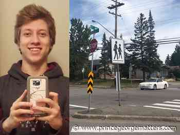 Family of Prince George teen hit in crosswalk collision petitions for traffic light - PrinceGeorgeMatters.com