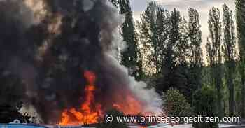 Abandoned home possible source of trailer park fire - Prince George Citizen