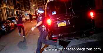 US cities erupt in more violence amid threats from Trump - Prince George Citizen