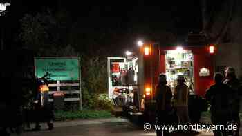 Feuer auf dem Sengenthaler Campingplatz - Nordbayern.de