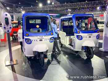 Mahindra to focus more on electric 3Ws compared to e-cars - RushLane