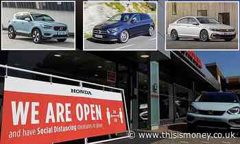The best deals on new cars as showrooms open again - This is Money