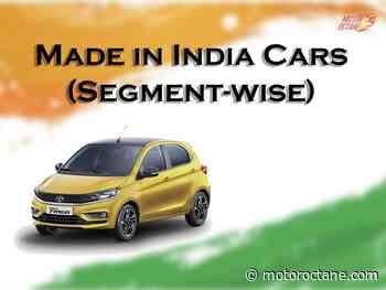 Made in India Cars - MotorOctane