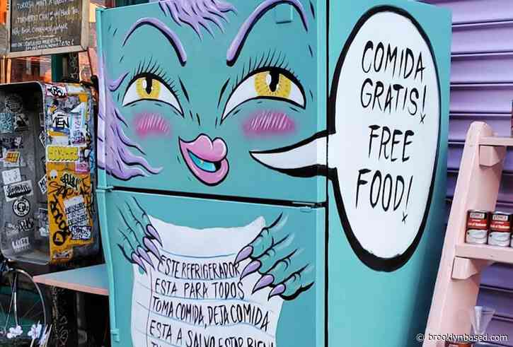 Free food fridge in Bed-Stuy inspires community fridges throughout the city