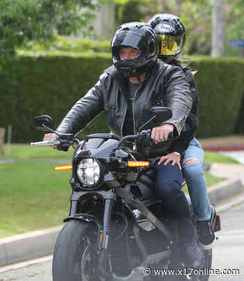 Ben Affleck Takes Ana De Armas For A Wild Ride On His Harley - X17 Online - X17 Online