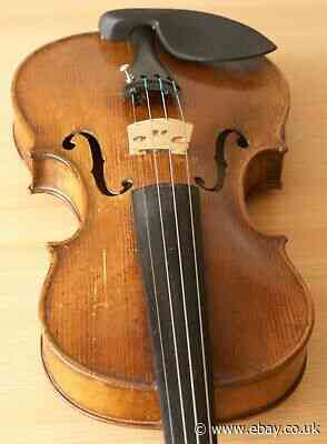 old violin 4/4 geige viola cello fiddle label JOSEF KLOTZ 1213
