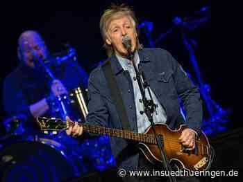 Paul McCartney hatte Zweifel an Tour mit James Corden - inSüdthüringen.de