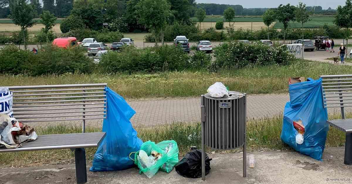 Meerbusch-Büderich: Müllproblem am Rheindeich - Westdeutsche Zeitung