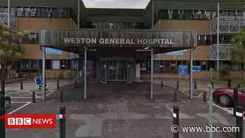 Coronavirus: Weston General Hospital retests inpatients - BBC News