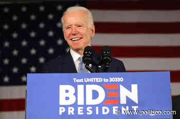 Poll: Biden notches 10-point lead over Trump in general election matchup - POLITICO