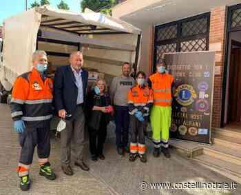 Velletri, il Lions Club consegna beni di prima necessità a Caritas e Protezione Civile - Castelli Notizie