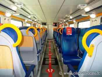 Cronaca di un viaggio in treno, da Velletri a Roma, all'epoca del Covid-19 (carrozze desolatamente vuote) - Castelli Notizie