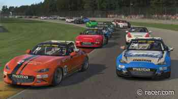 Three drivers eye series title in iRacing MX-5 Cup finale - RACER