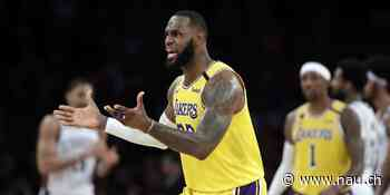 LeBron James soll Affäre mit Insta-Model haben - Nau.ch