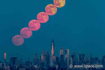 June full moon 2020: The 'Strawberry Moon' brings a penumbral lunar eclipse