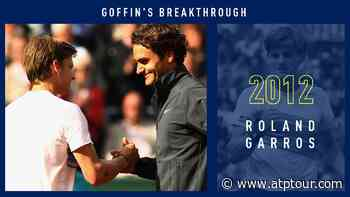 Roger Federer Posters On His Wall, David Goffin Met His Idol During Dream Roland Garros Run - ATP Tour