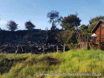 'Devastating' beach hut blaze may have been an arson attack - Chelmsford Weekly News