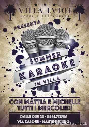 Hotel Villa Luigi: ogni mercoledì serata Karaoke | Martinsicuro - Ultime Notizie Abruzzo - News Ultima ora - CityRumors.it