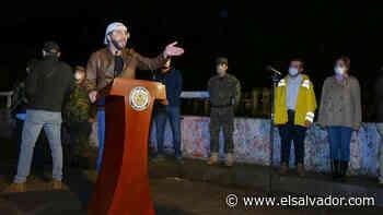EN VIVO: Bukele en conferencia desde puente de Agua Caliente, en Soyapango - elsalvador.com