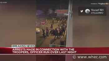 2 arrested after 2 state troopers, officer hit by vehicle during Buffalo protests