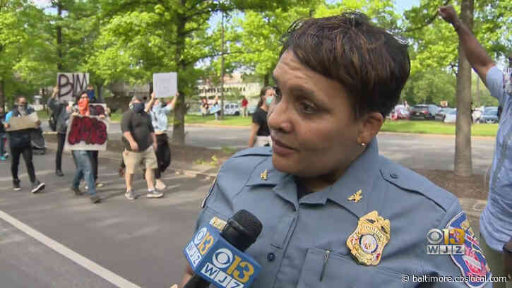 Howard County Police Chief Lisa Myers On George Floyd's Death: 'These Types Of Incidents Embarrass Our Profession'
