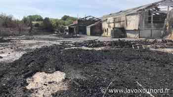 À Seclin, un site de stockage de palettes incendié deux fois en quinze jours - La Voix du Nord
