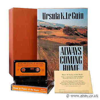 Always Coming Home — Ursula K. Le Guin — Hardcover First Edition Slipcase Tape