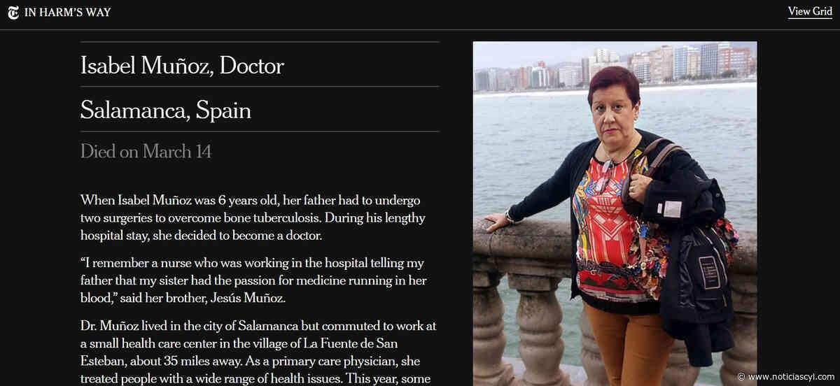El trágico fallecimiento de la doctora de La Fuente de San Esteban llega al The New York Times - Noticiascyl