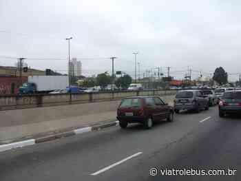 Avenida Aricanduva e Rio das Pedras com congestionamento nesta terça-feira (02) - Via Trolebus